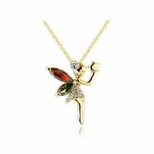 Jewelry - Dainty Tinkerbell Fairy Pendant Necklace